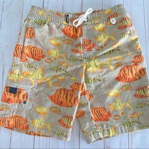 🛍 3/$20 Baby Gap swim trunks toddler swimsuit 4T